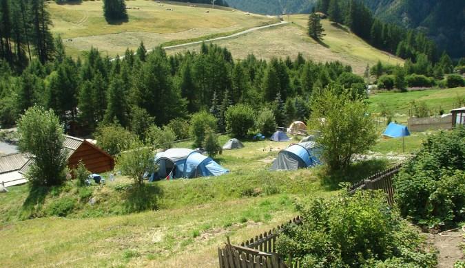 camping aire naturelle chanterane