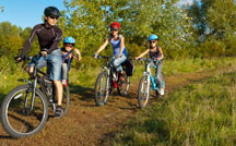 Campsites for cycling holidays